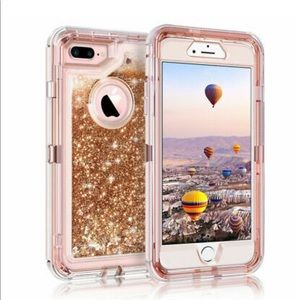 360° Liquid Glitter Bling Case For iPhone